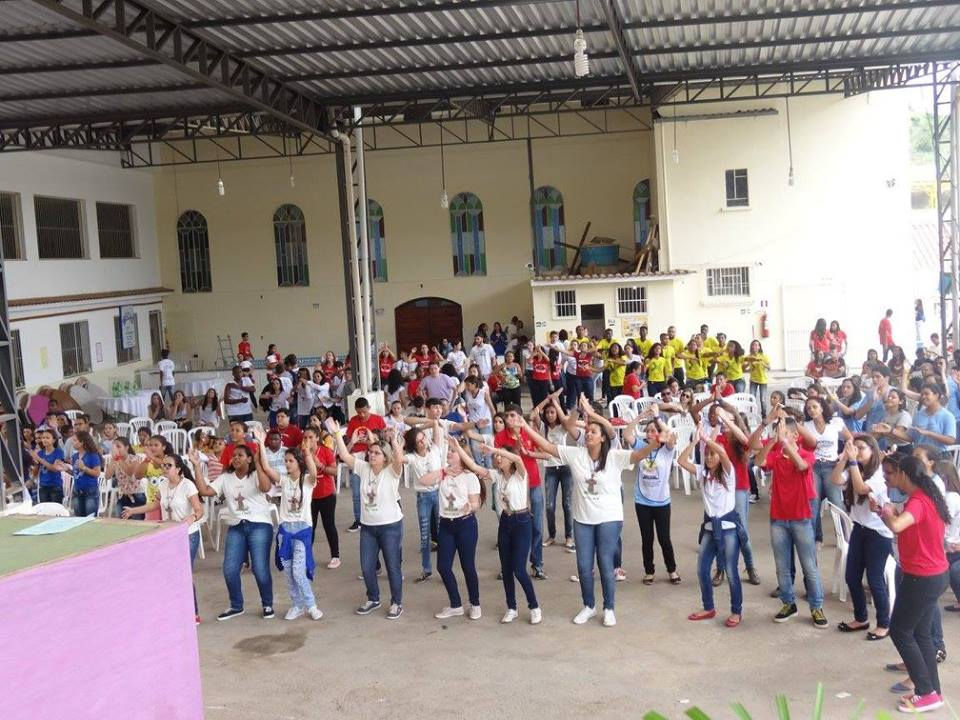 Foranias de Além Paraíba e Leopoldina Celebram DNJ em Conjunto