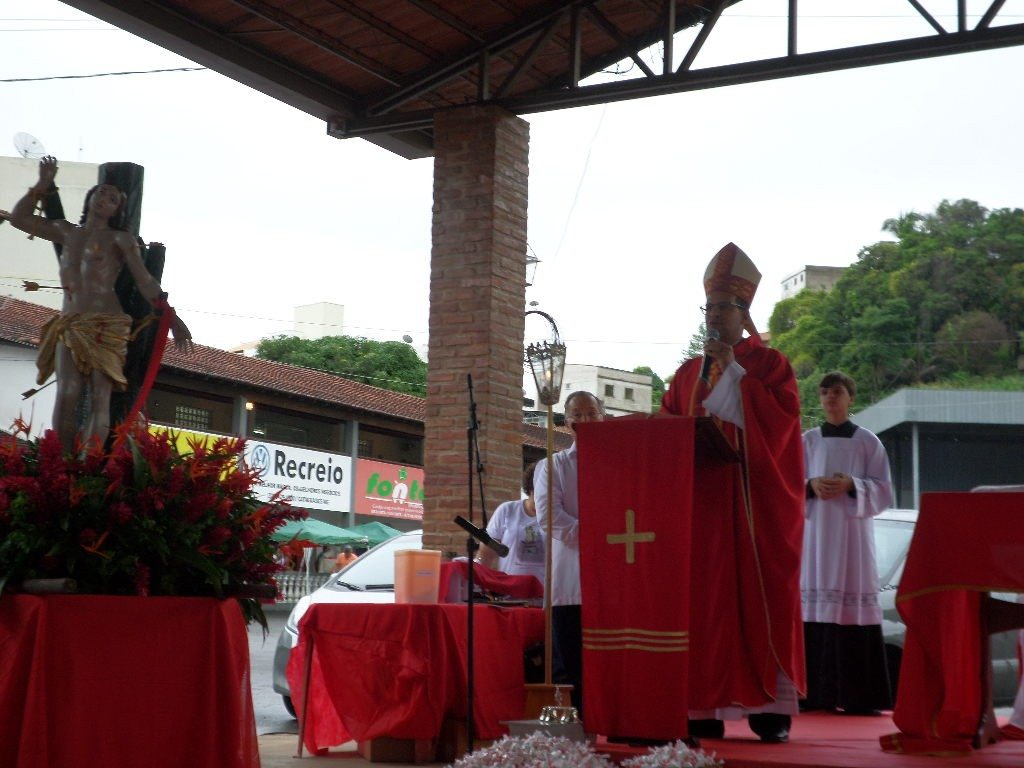 Leopoldina celebra padroeiro São Sebastião