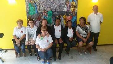 Apostolado da Oração visita o Seminário Propedêutico em Cataguases
