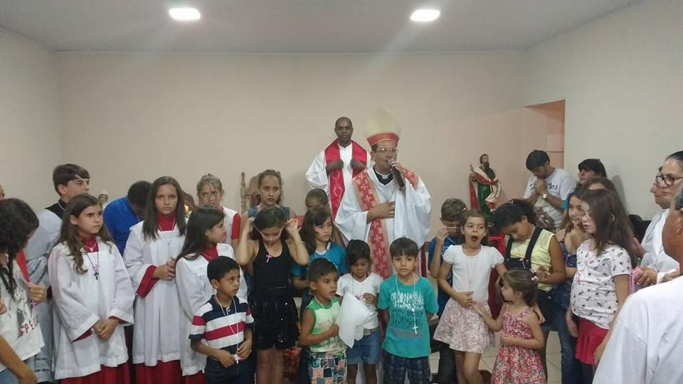 Visita Pastoral na Paróquia Nossa Senhora da Encarnação – Guiricema -MG