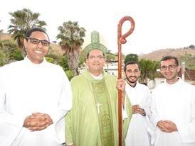 Seminaristas recebem ministério do Leitorato