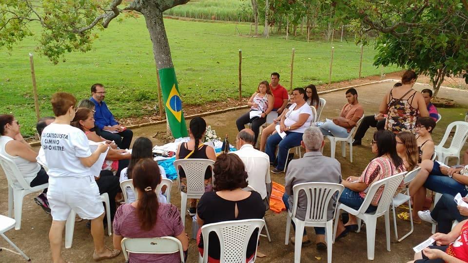MANHÃ DE ESPIRITUALIDADE PARA CATEQUISTAS E CONFRATERNIZAÇÃO  PARÓQUIA SÃO JOSÉ – TOCANTINS-MG