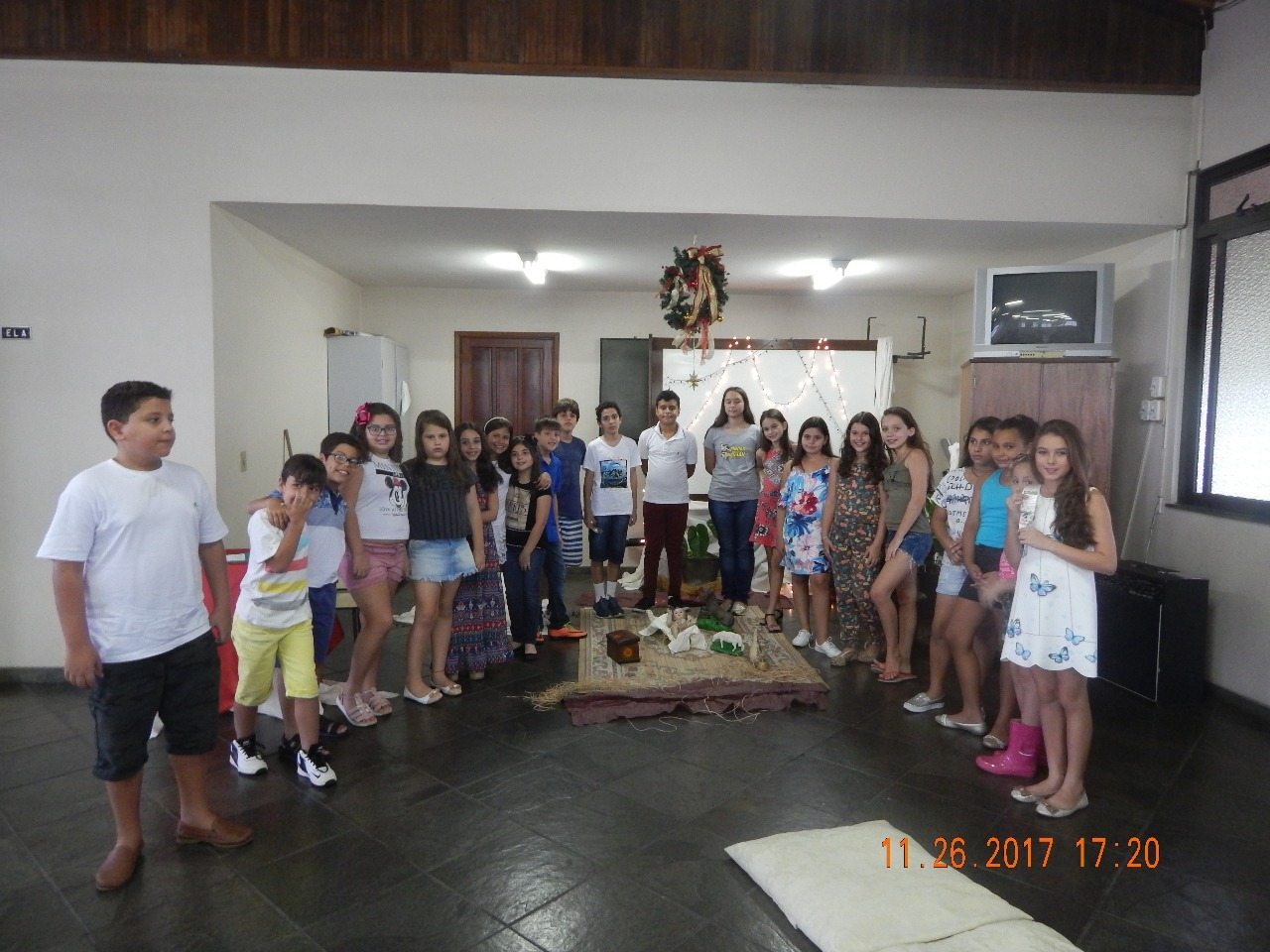 ENCERRAMENTO DO ANO CATEQUÉTICO DE 2017