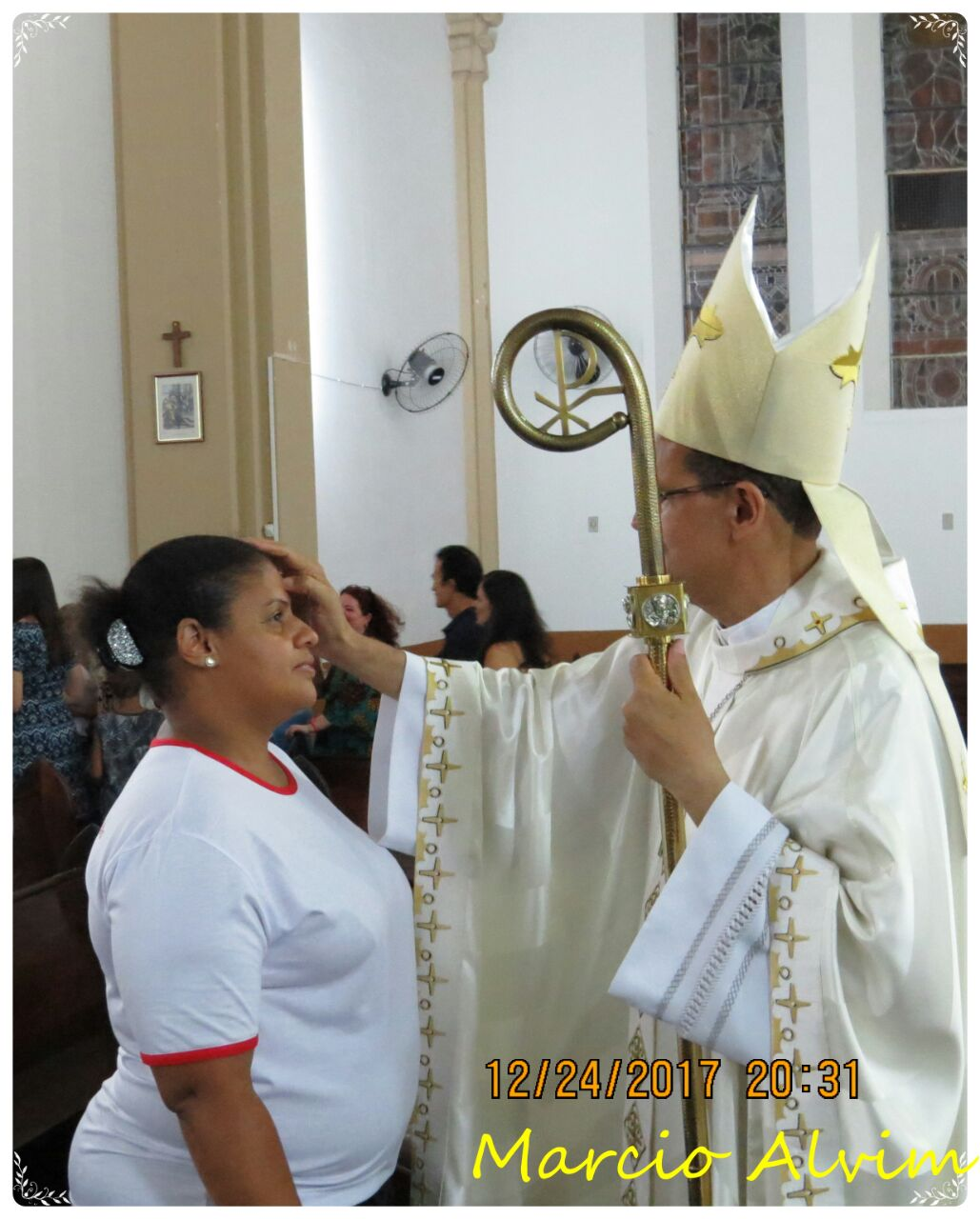 Missa de Natal na Paróquia da Catedral de São Sebastião
