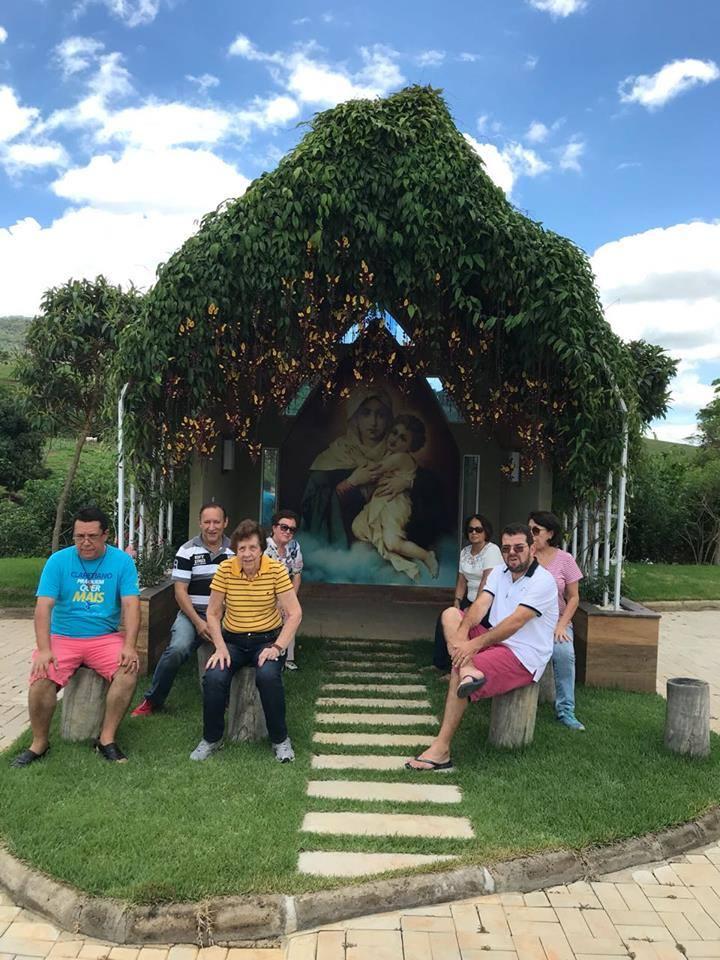 Confraternização equipe Diocesana dos Círculos Bíblicos em Rodeiro