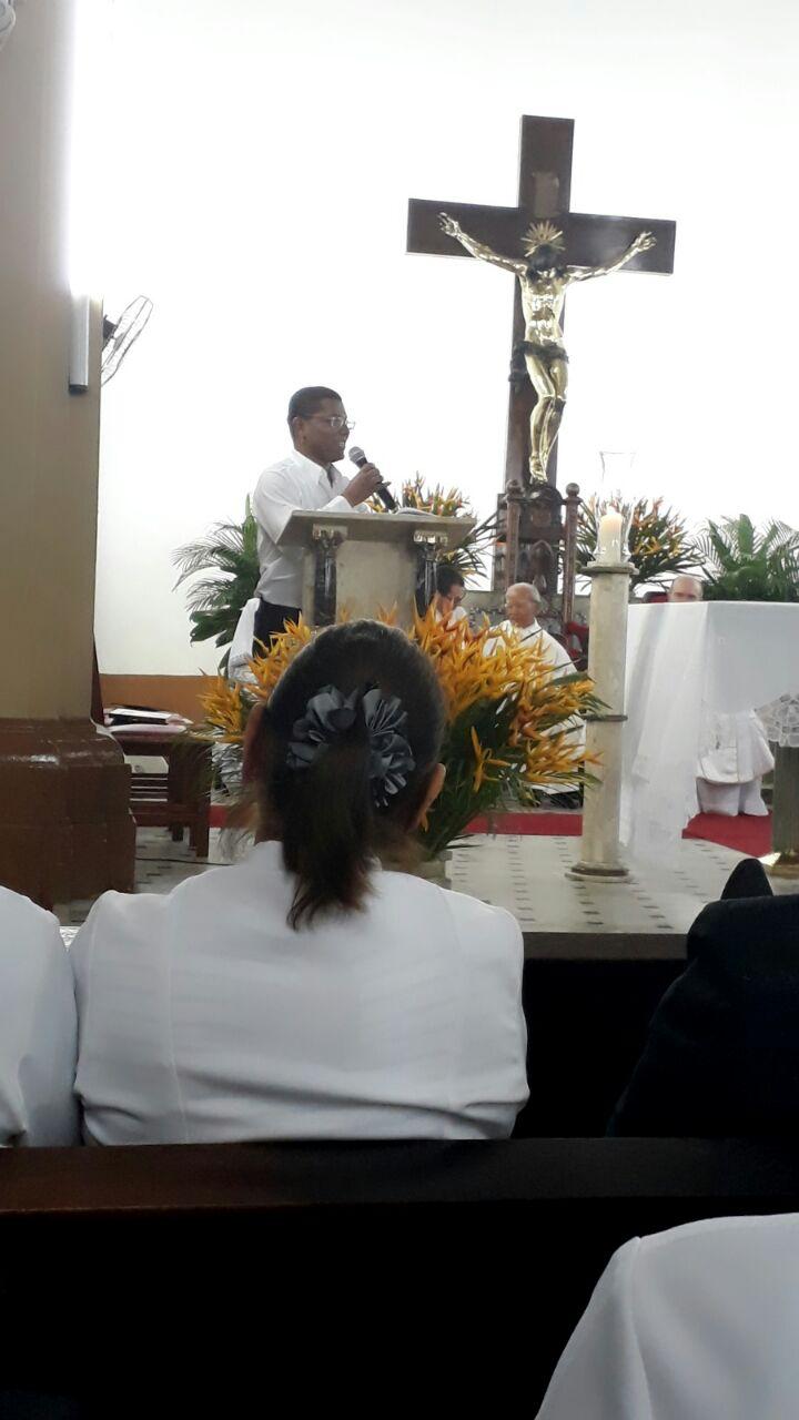 Celebração Eucarística marca acolhida a Voluntário com Dom Bosco