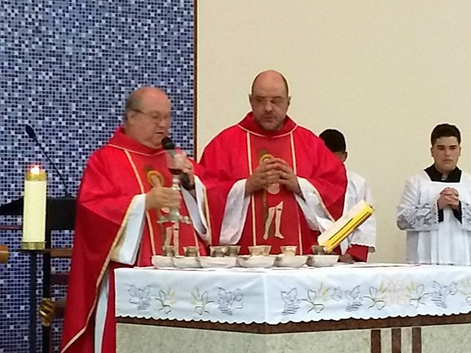 As festividades na Paróquia São Sebastião em Ubá
