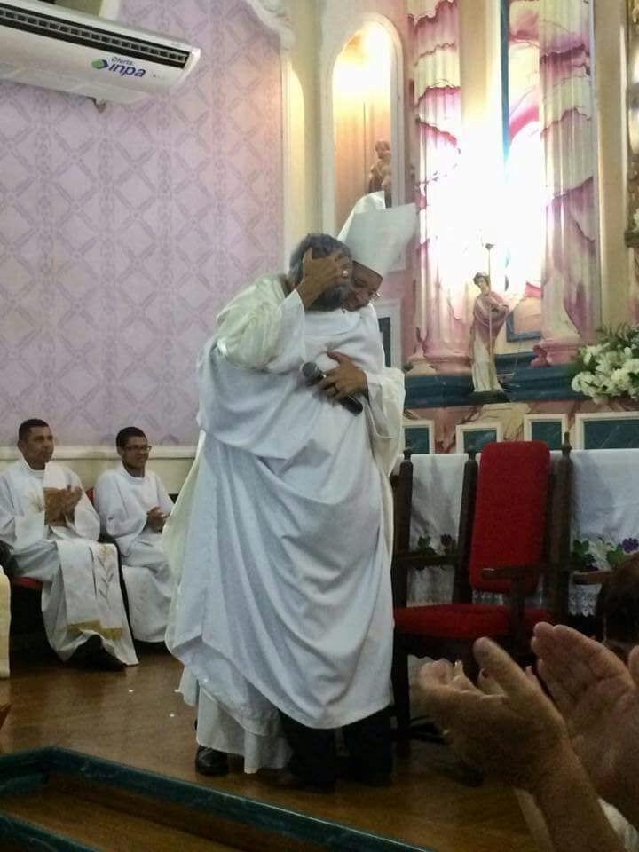 Dom José Eudes preside missa em comemoração aos 47 anos de Monsenhor Waltencyr em Pirapetinga