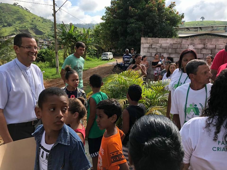 Visita Pastoral a Paróquia Senhora Bom Jesus Dos Aflitos, em Itamarati de Minas