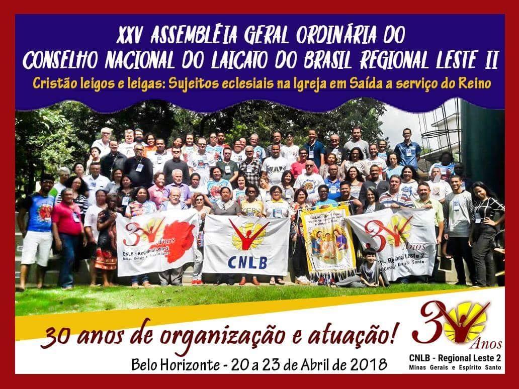 Assembléia Geral Ordinária do Conselho Nacional do Laicato – Regional Leste II