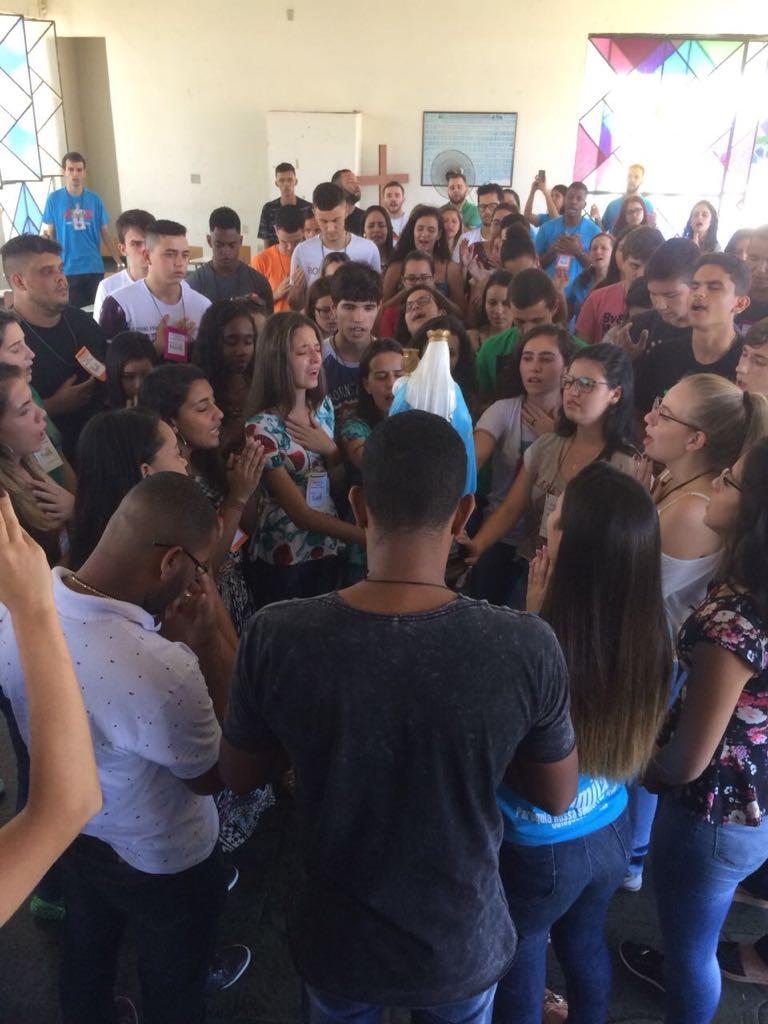 Encontro de Formação da Juventude Missionária da Paróquia N. Sra do  Rosário – Cataguases