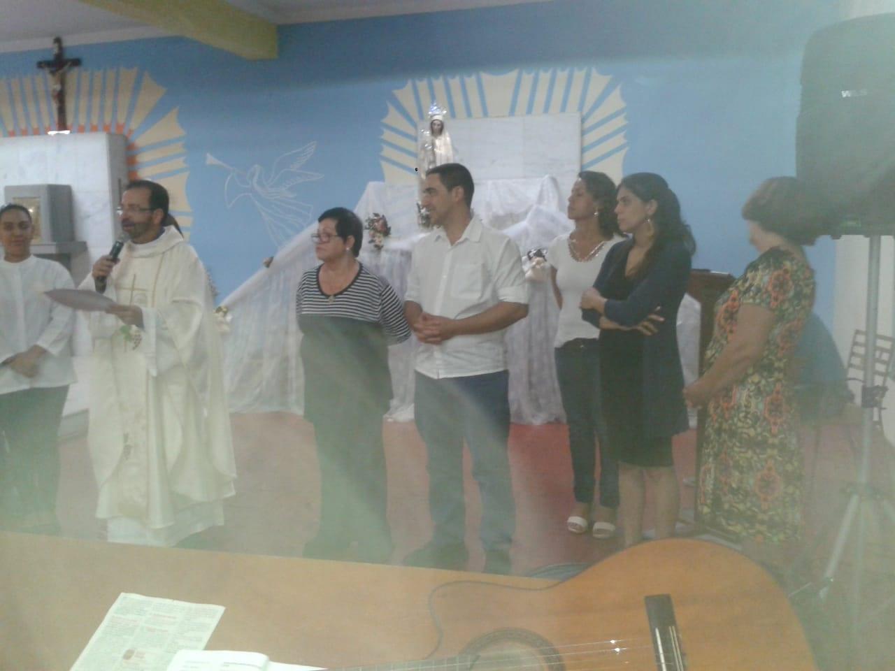 BÊNÇÃO DO TERRENO E LANÇAMENTO DA PEDRA FUNDAMENTAL DA CONSTRUÇÃO DA NOVA CAPELA DE SÃO DAMIÃO DE MOLOKAI