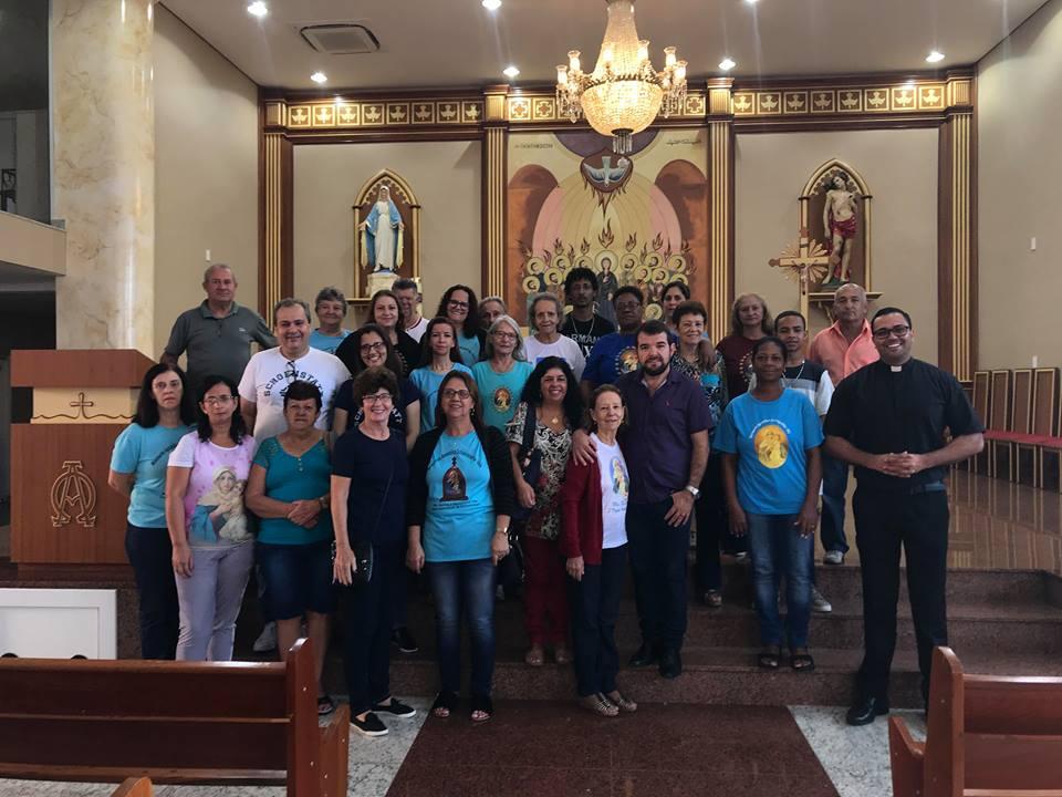 Retiro para Coordenadores do Apostolado da Mãe Rainha da Diocese de Leopoldina