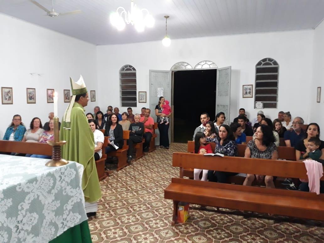 Aconteceu Visita Pastoral na Paróquia São Sebastião de Ubá