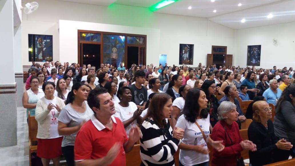 Visita Pastoral na Paróquia São Sebastião, em Ubá