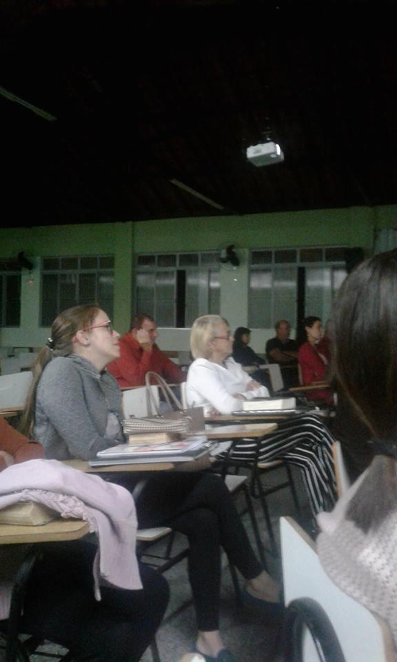 Curso de Bíblia na Paróquia N. Senhora do Rosário, em Ubá