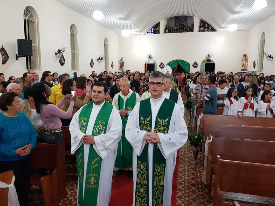 Missa de Acolhida do Pe Marcelo de Aguiar Morais, na Paróquia São Francisco de Assis