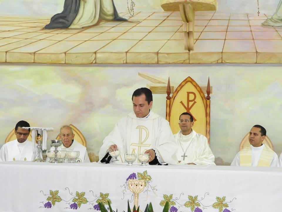 Paróquia Nossa Senhora do Rosário acolhe novo administrador paroquial