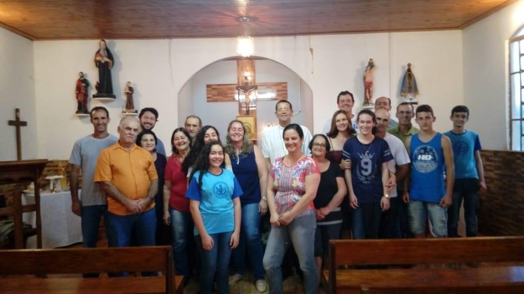 Visita pastoral às Paróquias Senhor Bom Jesus, em Argirita, e Santo Antônio, em Tebas.