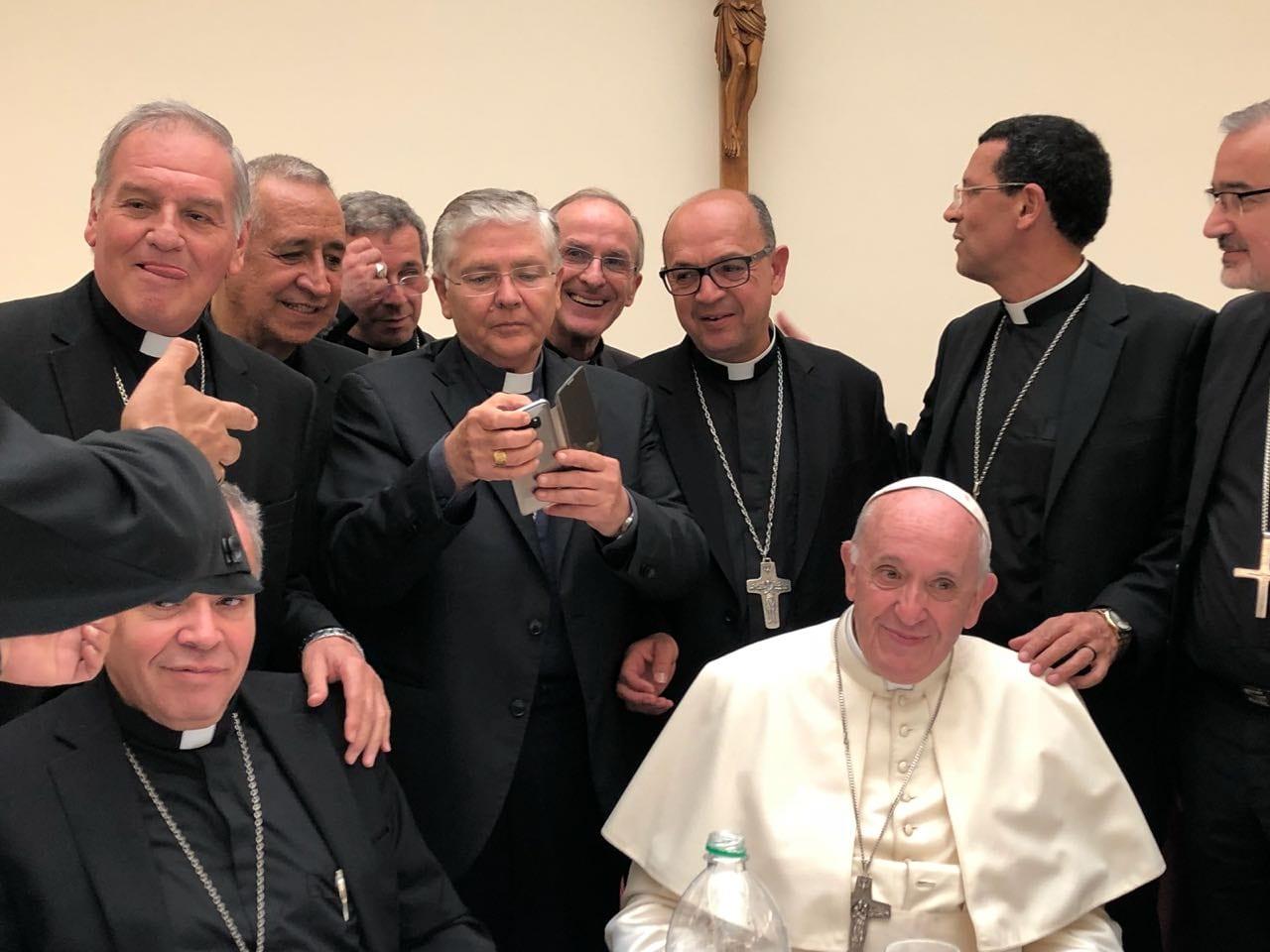 BISPOS QUE PARTICIPARAM DOS EXERCÍCIOS ESPIRITUAIS EM ROMA