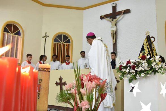 Dedicação de novo altar Igreja Nossa Senhora Aparecida em Antônio Prado de Minas