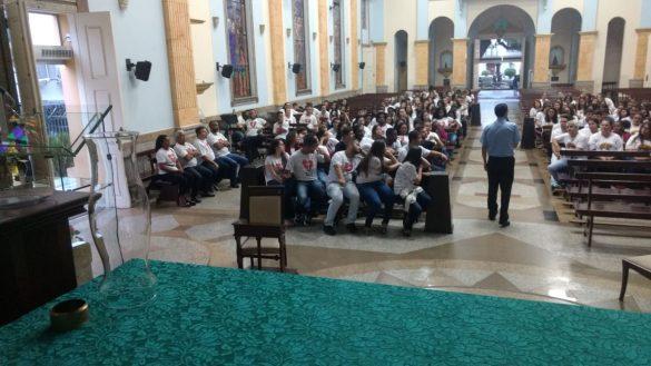 Aconteceu na Paróquia São Januário, em Ubá visita pastoral Dom José Eudes