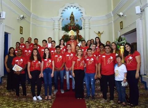 Dom José Eudes presidiu Santa Missa e crisma em Estrela Dalva
