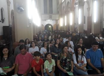 Reunião de Pais dos jovens crismandos da Paróquia da Catedral de São Sebastião