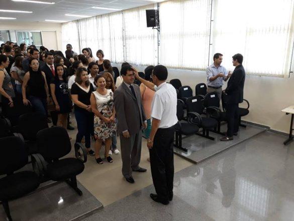 Palavras de acolhimento ao Exmo. E Revmo. Bispo DIOCESANO Dom José Eudes Campos do Nascimento. Por ocasião à sua visita ao Fórum da cidade de Ubá. Proferidas por Dra. Joyce.