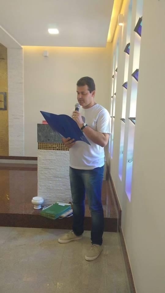 aconteceu a formatura da 5ª turma do Curso de Teologia para Leigos.
