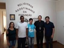 Aconteceu Visita Pastoral na Paróquia Senhor Bom Jesus em Vieiras