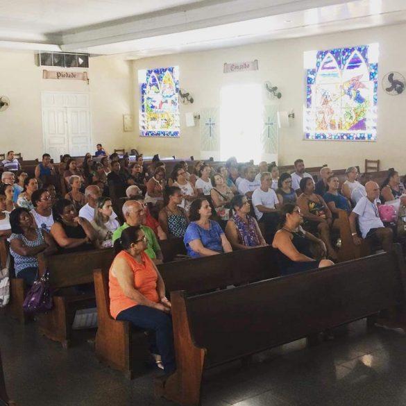 ABERTURA DO ANO PASTORAL DA PARÓQUIA DIVINO ESPÍRITO SANTO – UBÁ-MG