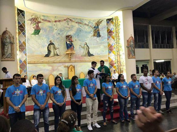 Nova coordenação da Juventude Missionária Paróquia Nossa Senhora do Rosário – Cataguases