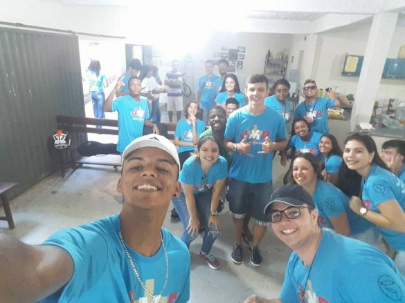 MISSÃO JOVEM NA MATRIZ DO ROSÁRIO EM CATAGUASES