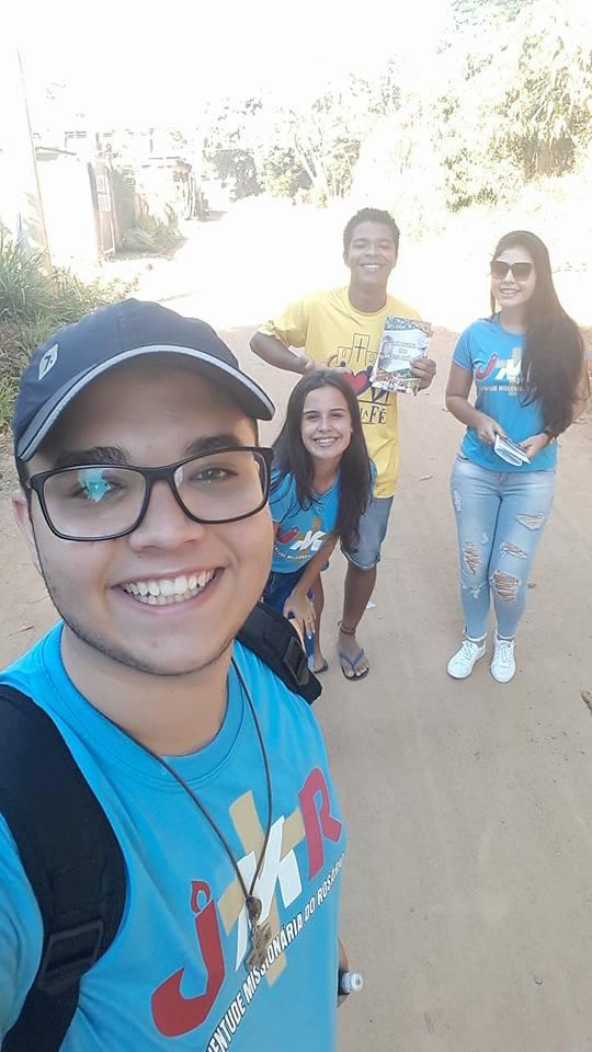Missão Jovem na Comunidade Nossa Senhora Aparecida em Cataguases
