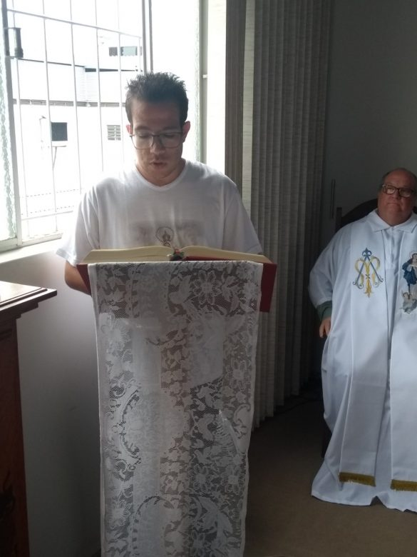 Administrador Diocesano visita Seminário Maior
