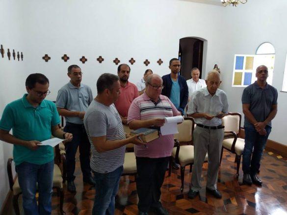 COLÉGIO DE CONSULTORES DIOCESE DE LEOPOLDINA ELEGE ADMINISTRADOR DIOCESANO PADRE VOLNEI FERREIRA NORO