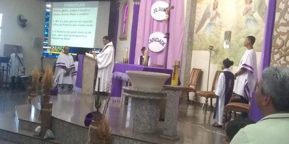 Primeiro Escrutínio (Ritual da Iniciação Cristã de Adultos – Paróquia Divino Espirito Santo de Ubá