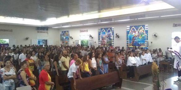 Primeiro Escrutínio Ritual da Iniciação Cristã de Adultos – Paróquia Divino Espirito Santo de Ubá