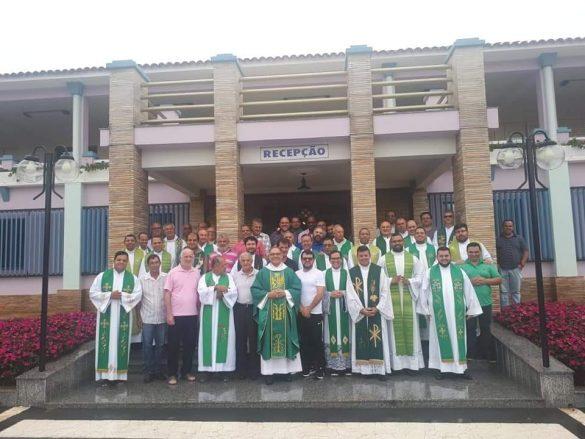 Clero diocesano se reuniu para o Retiro Anual