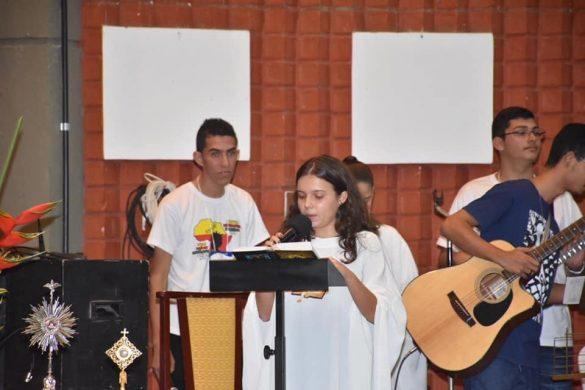 Missa de Abertura da Semana Missionária Salesiana na Paróquia Santo Antônio em Astolfo Dutra