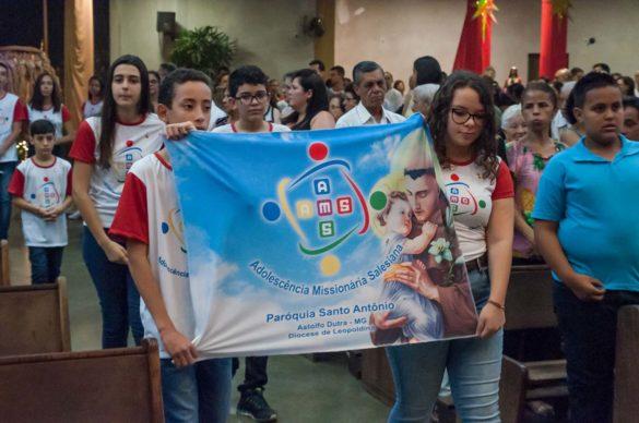Diocese de Leopoldina forma o segundo grupo da Adolescência Missionária Salesiana