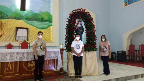 Festa de Santa Rita de Cássia na Paróquia de São de José, em Além Paraíba (MG)