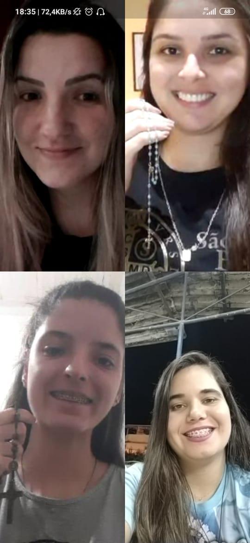 Grupo de jovens da Paróquia do Rosário promove campanha de oração do Santo Terço