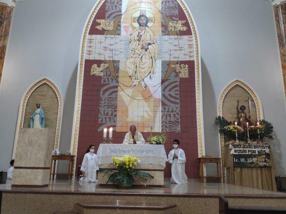 Paróquia São João Batista celebra festa em honra a seu padroeiro