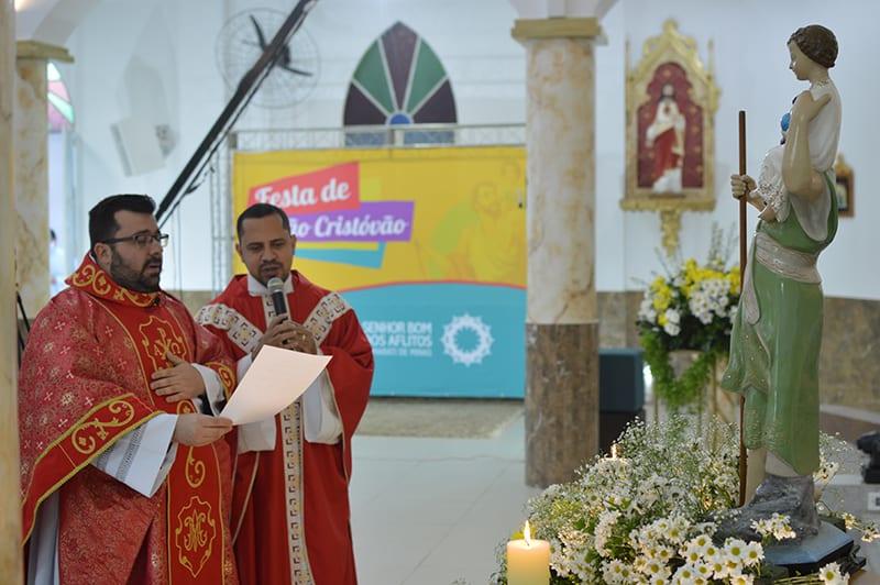 Comunidade de São Cristóvão, da Paróquia Jesus dos Aflitos, em Itamarati de Minas (MG)