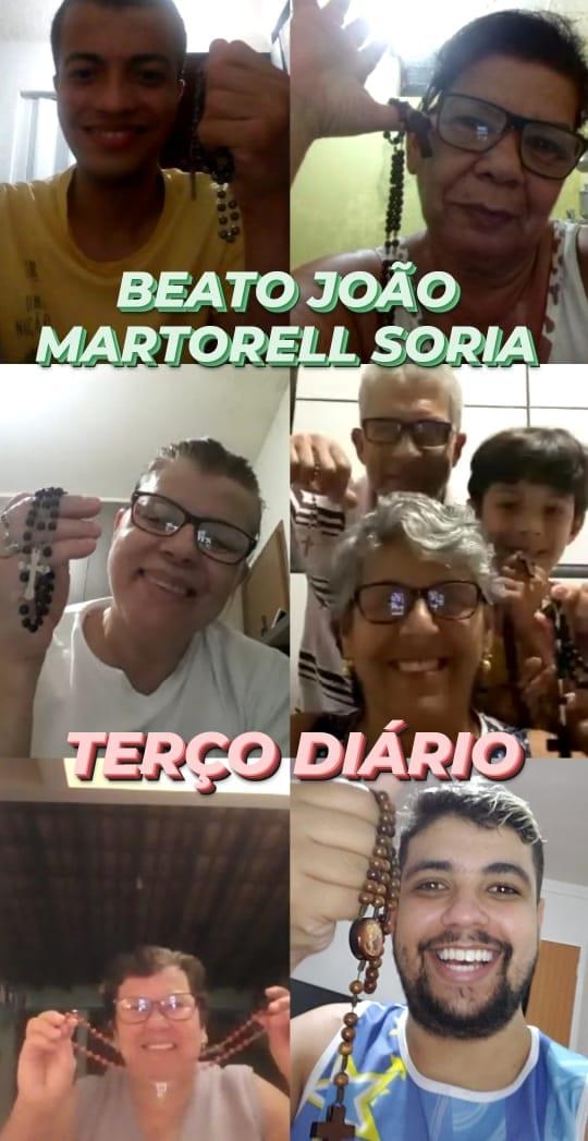 Paróquia São José do Operário de Cataguases promove oração do Santo Terço de forma virtual.