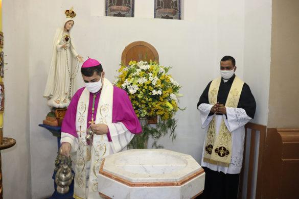 Padre Wallace é empossado como pároco e cura da Catedral Diocesana de São Sebastião