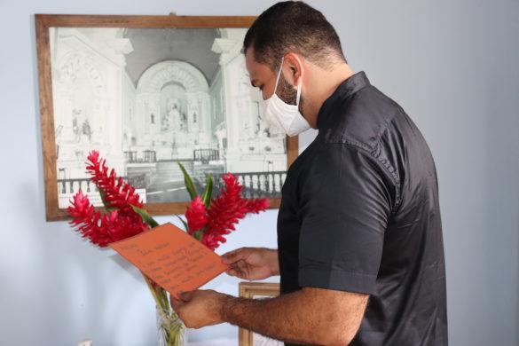 Piacatuba acolhe o novo pastor da Paróquia Nossa Senhora da Piedade.