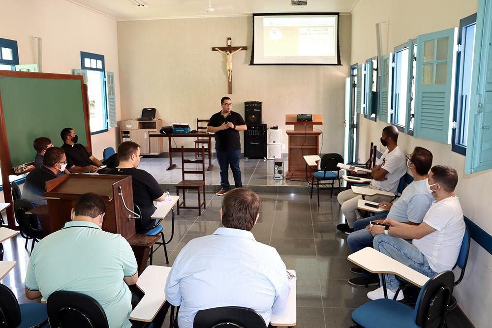 Pe. João Paulo Martins, assessor eclesiástico da Pastoral da Comunicação (PASCOM)